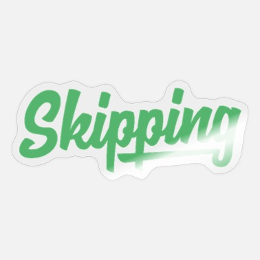 Skipping Ropes Skipping - Sticker