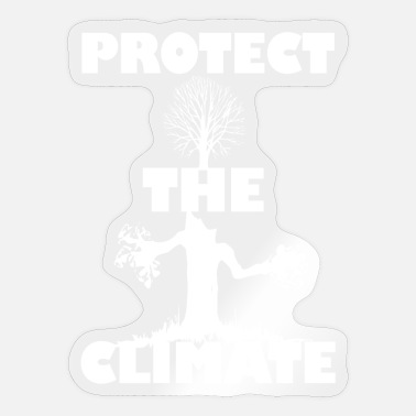 Protection Protect the climate - Sticker