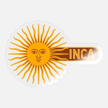 Inca Inti Sun Peru Gift Idea - Sticker