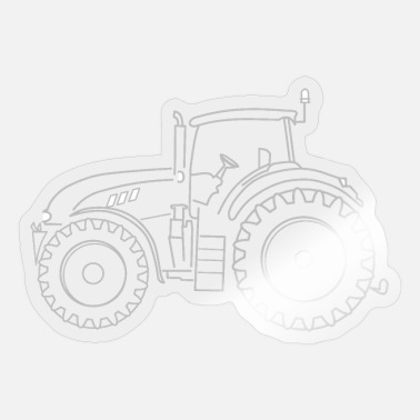 Heavy Duty Truck Heavy-duty tractor - Sticker