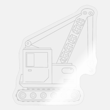 Heavy Duty Truck Crane truck 1 - Sticker