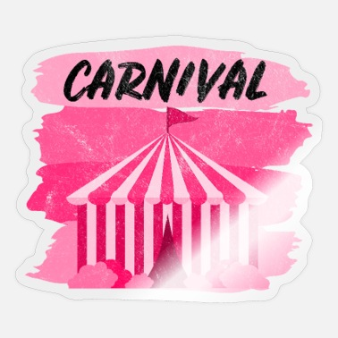 Marquee Carnival Carnival Tent Zoo Marquee Circus - Sticker