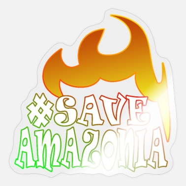 Saved Save amazonia save the rainforest - Sticker