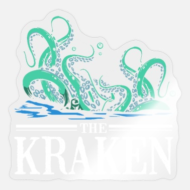 Oracle Squid Octopus Tentacle Ink Calamari Ocean Oracle - Sticker