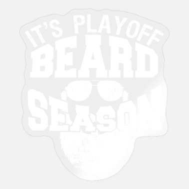 Playoff Beard It's Playoff Beard Season Hockey Gift - Sticker