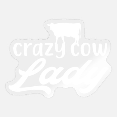 Cowshed Crazy Cow Lady - Sticker