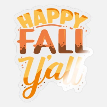 Fall Fall - Sticker