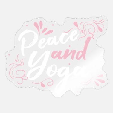 Yoga Quotes Yoga Quote gift - Sticker