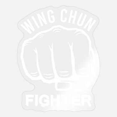 Weng Weng Wing Chun Weng Fighter Chinese Kung FU - Sticker