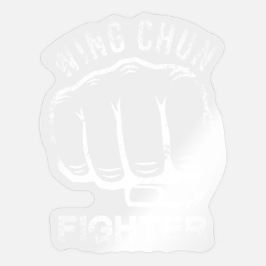 Weng Weng Wing Chun Fighter - Sticker