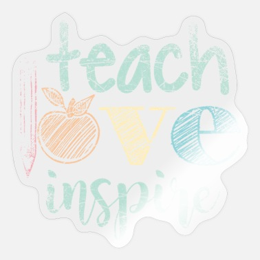 Profession teaching profession - Sticker