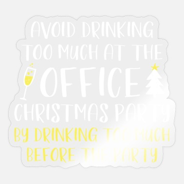 Christmas Party Office Christmas Party - Sticker