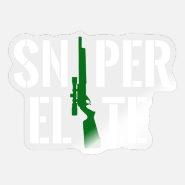 Army Sniper Sniper elite - Sticker
