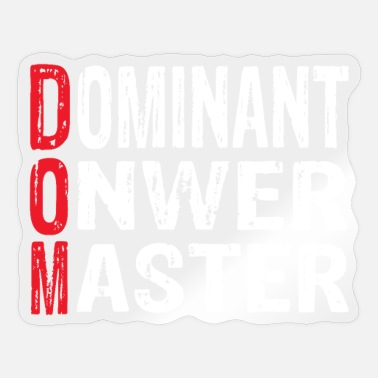 Dominant Dominant - Sticker