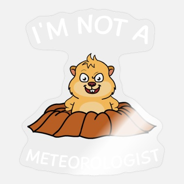 Whistler Canada I'm Not A Meteorologist - Sticker