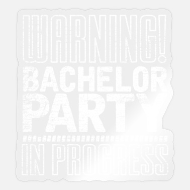 Bachelor Party Bachelor Party - Sticker