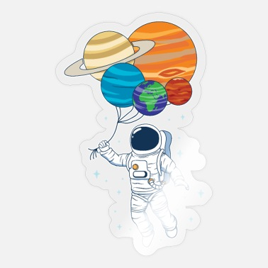 Space Astronauts Planets & Space Space Space - Sticker