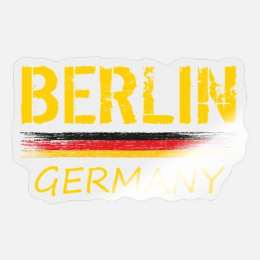 Capital City Berlin Capital City of Germany - Sticker