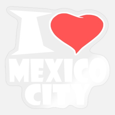Mexico City Mexico City - Sticker