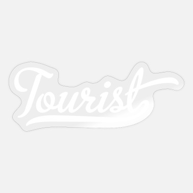Tourist Tourist - Sticker