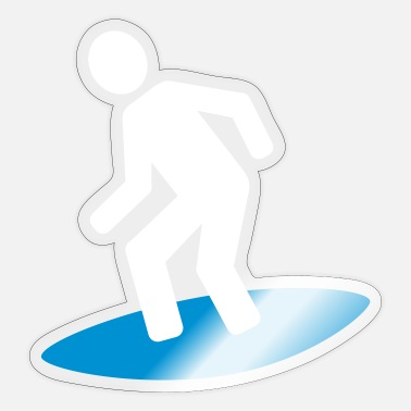 Surfing Surfing - Sticker