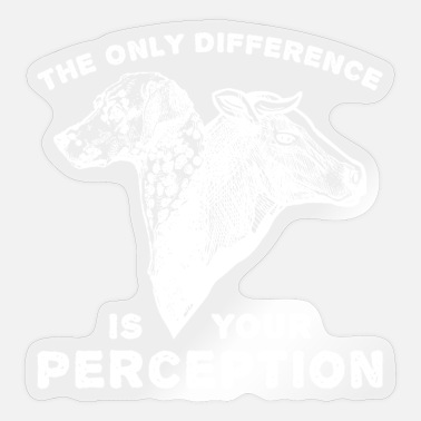 Animal Rights Activists Animal Welfare Perception Animal Rights Activists - Sticker