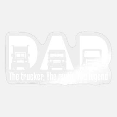 Trucker Dad Trucker Dad - Sticker