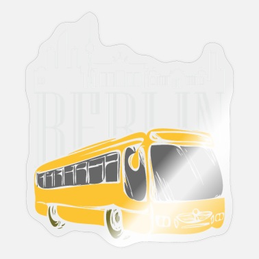 Capital City Berlin Bus Germany Capital City - Sticker