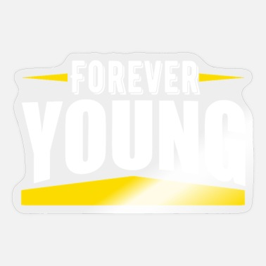 Young Persons forever young - Sticker