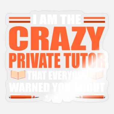 Privateer Private Tutor - Sticker