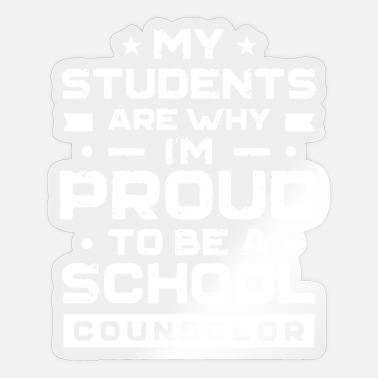 Counsel Counselling teacher Counseling School Counselor - Sticker