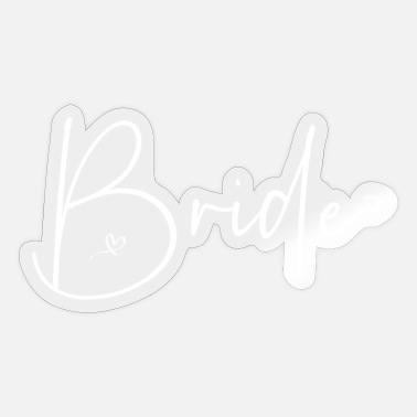 Bride Bride - Sticker