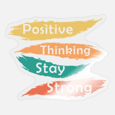 Positive Thinking Positive Thinking - Sticker