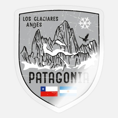 Andes Fitzroy Patagiona Emblem - Sticker