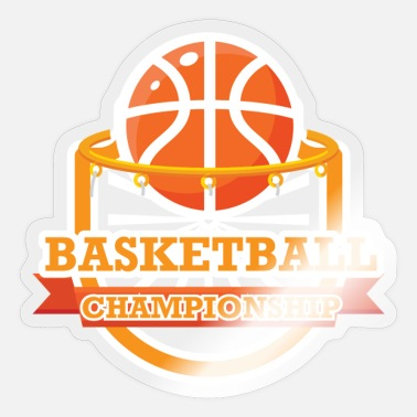 Basketball Lover Basketball Championship - Awesome Basketball lover - Sticker