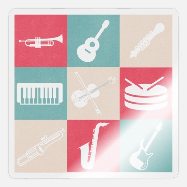 Musical Instruments Musical instruments - Sticker