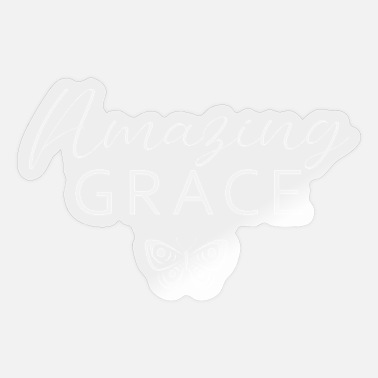 Wretch God's Amazing Grace Christian - Sticker
