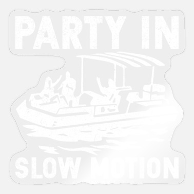Motion Party in slow motion - Sticker