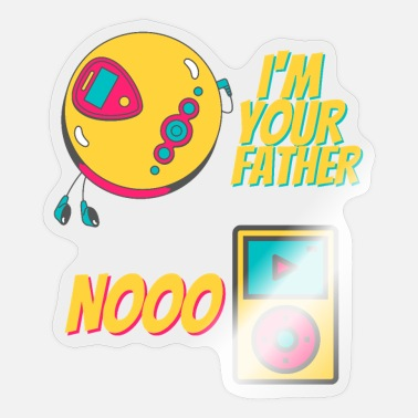 Mp3 I'm Your Father MP3-Player - Nooo - Sticker