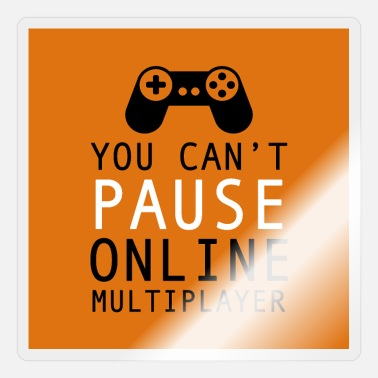 Multiplayer you cant pause online multiplayer - Sticker