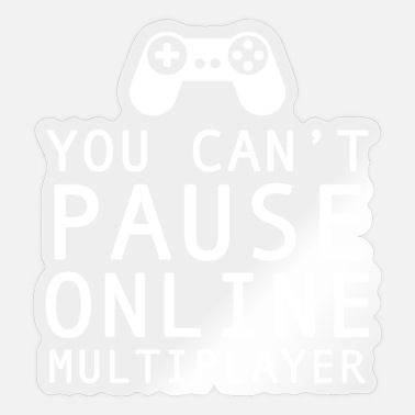 Multiplayer gamer online multiplayer - Sticker