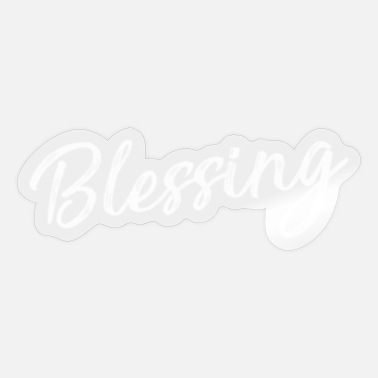 Blessing in Disguise Halloween Costume - Sticker