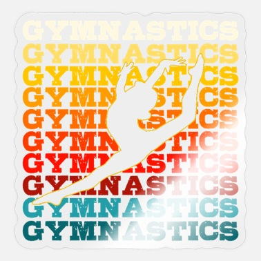 Gymnastic Gymnast - Sticker