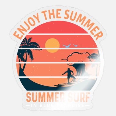 Enjoy the summer - Sticker
