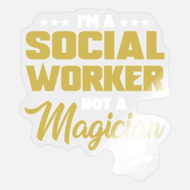 Social Social Worker - Sticker