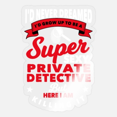 Privateer Private Detective - Sticker