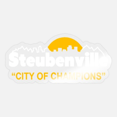 City Of Champions Steubenville - City of Champions - Sticker