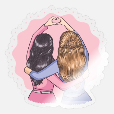 Friends Best Friends Forever - Sticker
