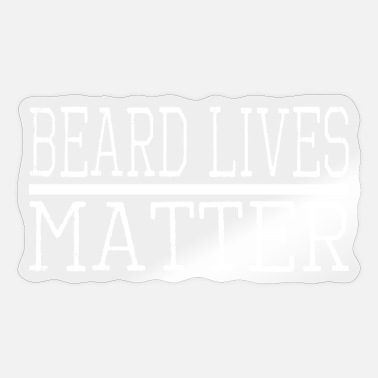 Playoff Beard legend beard apparel beards #funny beard memes - Sticker
