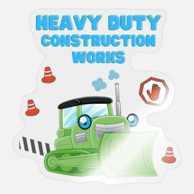Heavy Duty Truck Heavy Duty Construction Works - Sticker